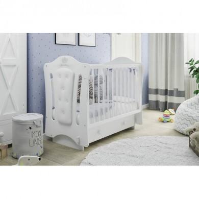 Kūdikio lovytė KAROLINA /balta