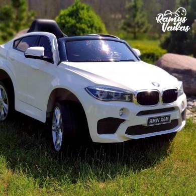 Elektromobilis BMW X6M  White