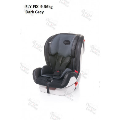 FLY-FIX  9-36kg.  Isofix GREY