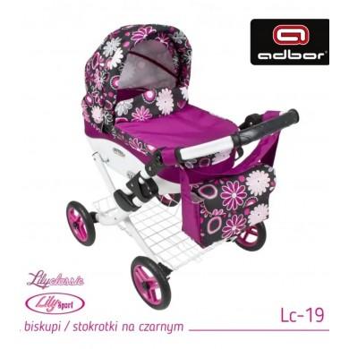 Klasikinis vežimėlis Lėlei...