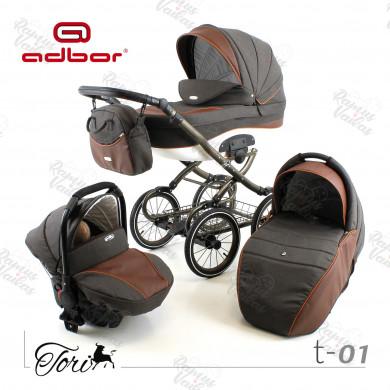Klasikinis vežimėlis TORI 3in1