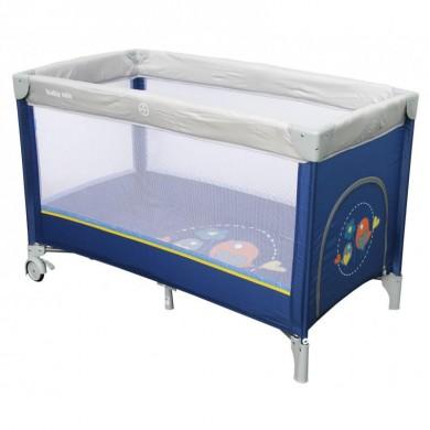 Maniežinė lovytė BABY MIX Navy